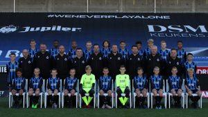 Club Brugge U13 team maakt debuut